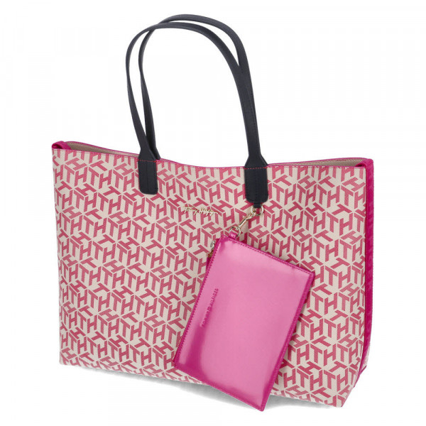 Schultertasche ICONIC TOMMY TOTE MN Pink - Bild 1