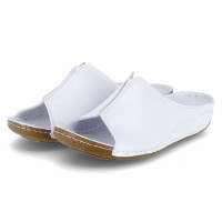 Pantoletten Weiß